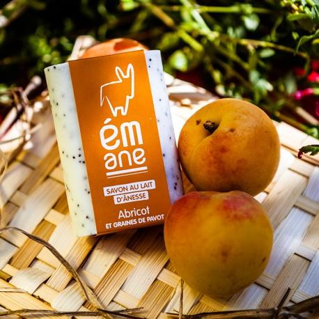 Savon au lait d'ânesse - Abricot & graines de pavot