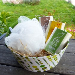 Panier cadeau - 3 savons